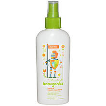 "Аерозоль-репелент від комах для дітей BabyGanics ""Natural Insect Repellent"" натуральний (177 мл)"