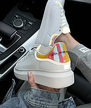 Женские кроссовки Alexander McQueen Oversized Sneakers (Рефлективные вставки), фото 3