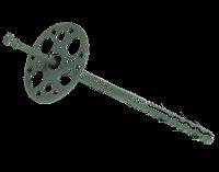Дюбель Зонтик для теплоизоляции 10х100 мм пластиковый гвоздь MASTERPLAST (Мастерпласт)