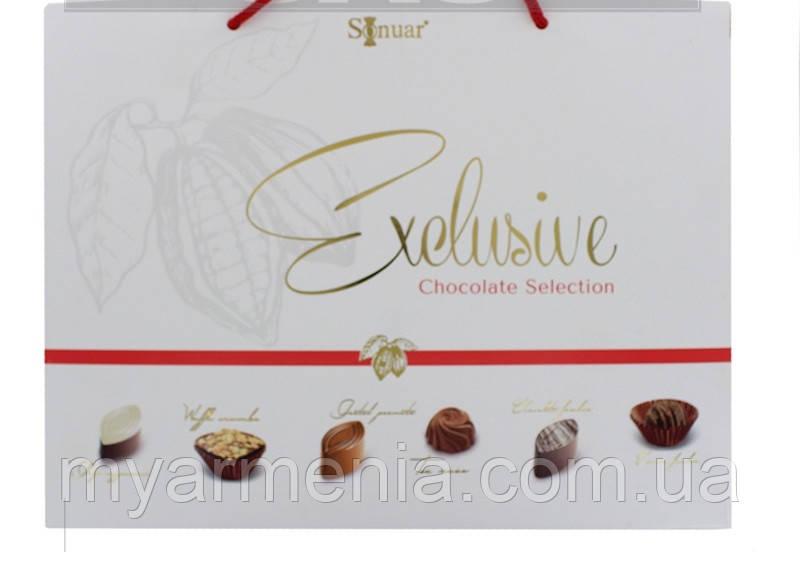 """Набір шоколадних цукерок """"Ексклюзив"""" білий 210гр """"Sonuar"""""""