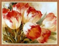 """Набор алмазной вышивки (мозаики) """"Букет тюльпанов"""""""