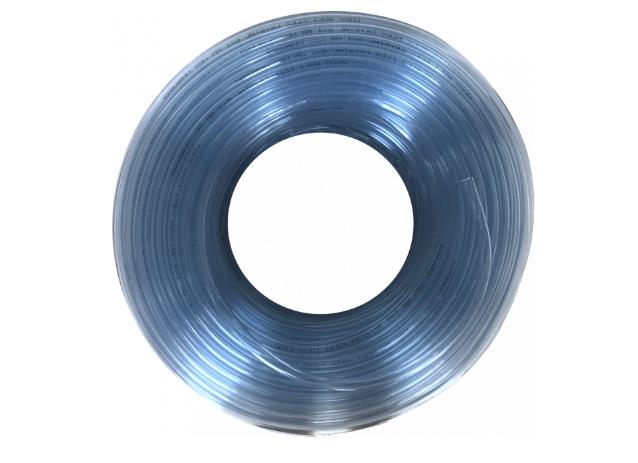 Шланг пищевой  Crystal ПВХ 6х1 мм 100 м