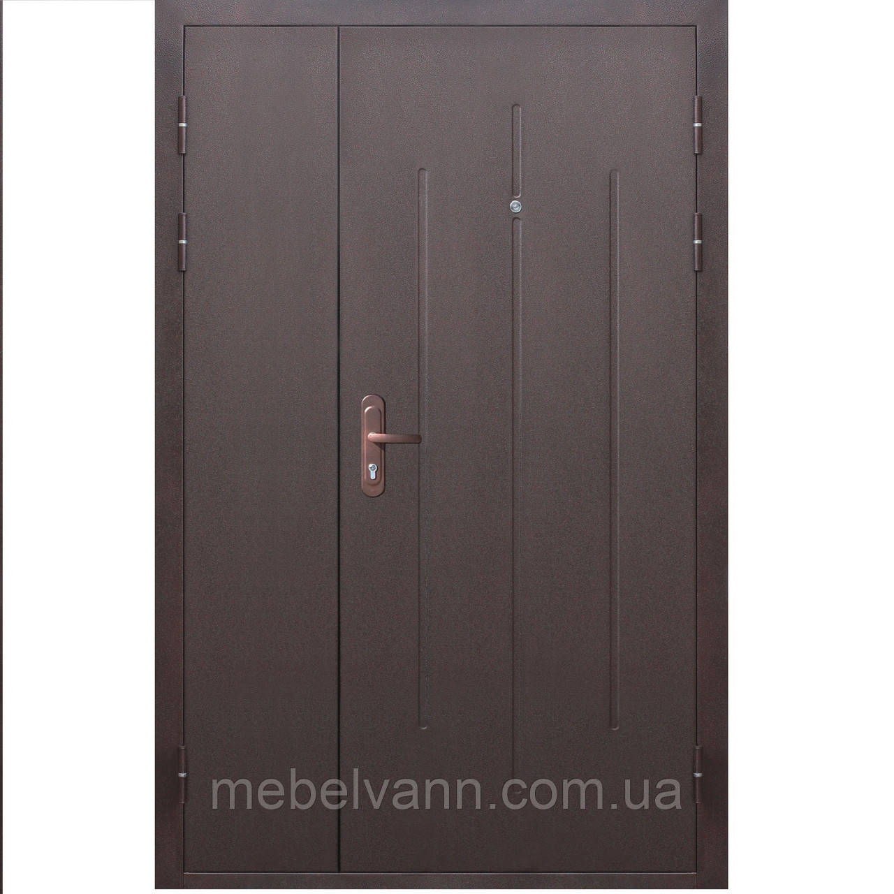 Входная дверь СтройГост 7-1 металл/металл 1200х2050