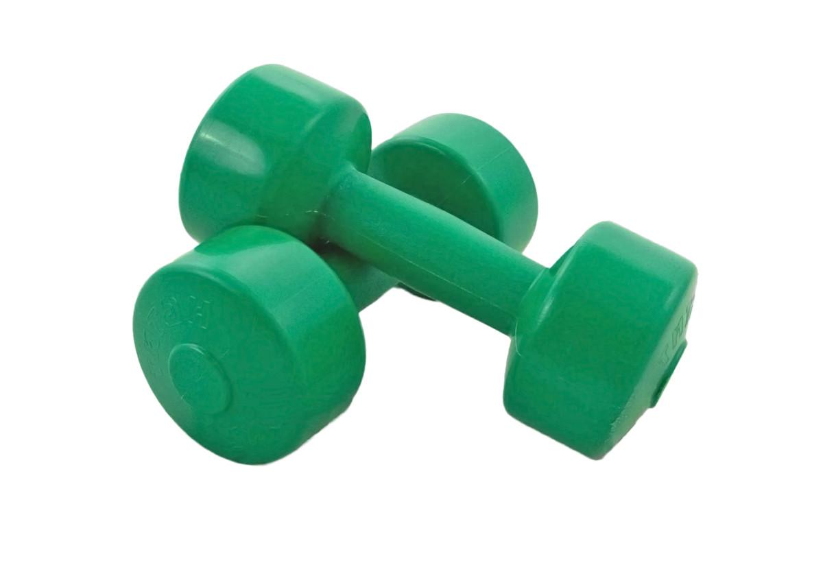 """Гантели для фитнеса """"Титан"""" 2 шт по 1 кг"""