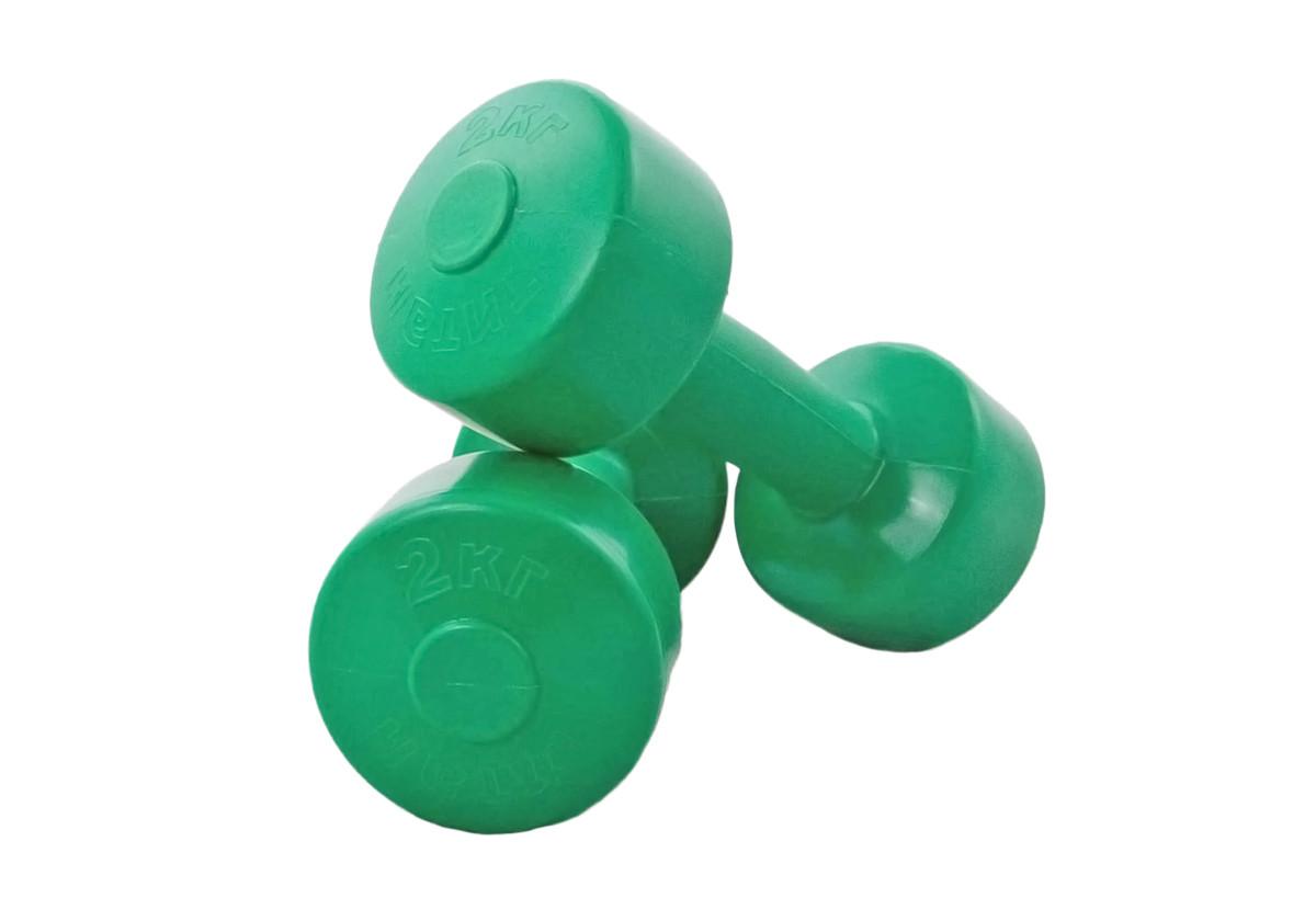 """Гантели для фитнеса """"Титан"""" 2 шт по 2 кг"""