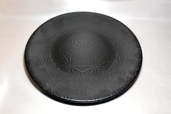 """Тарелка большая круглая чёрная Kutahya Porselen """"Corendon"""" 300 мм (NM3030)"""