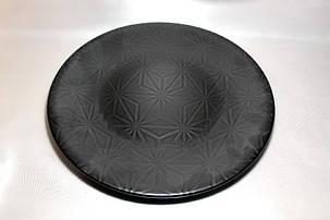 """Тарелка большая круглая чёрная Kutahya Porselen """"Corendon"""" 300 мм (NM3030), фото 2"""
