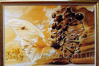 "Картина из янтаря "" Идиллия"""