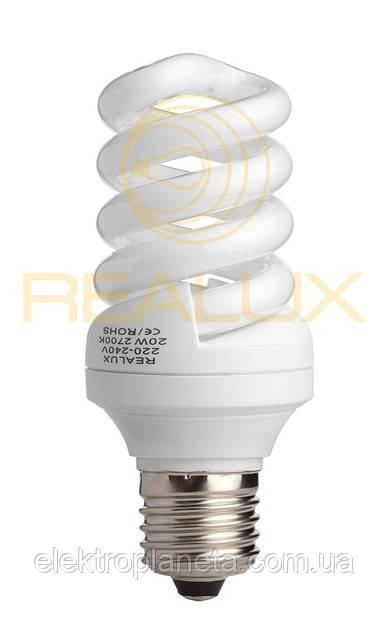 Енергозберігаючі лампи Realux.