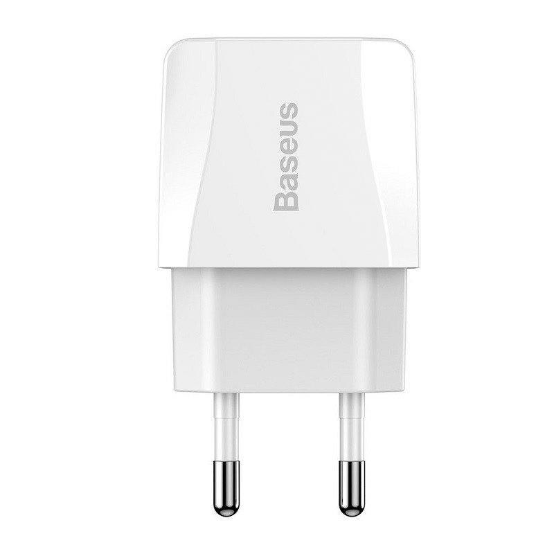 СЗУ 2USB Baseus Mini Dual-U (CCALL-MN02) (2.1A) White