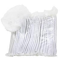 Шапочка медицинская, белая (100 шт в упаковке)