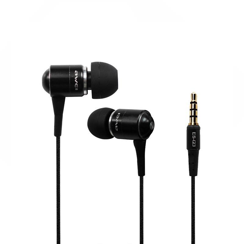 Наушники MP3 AWEI ES-Q3 Black