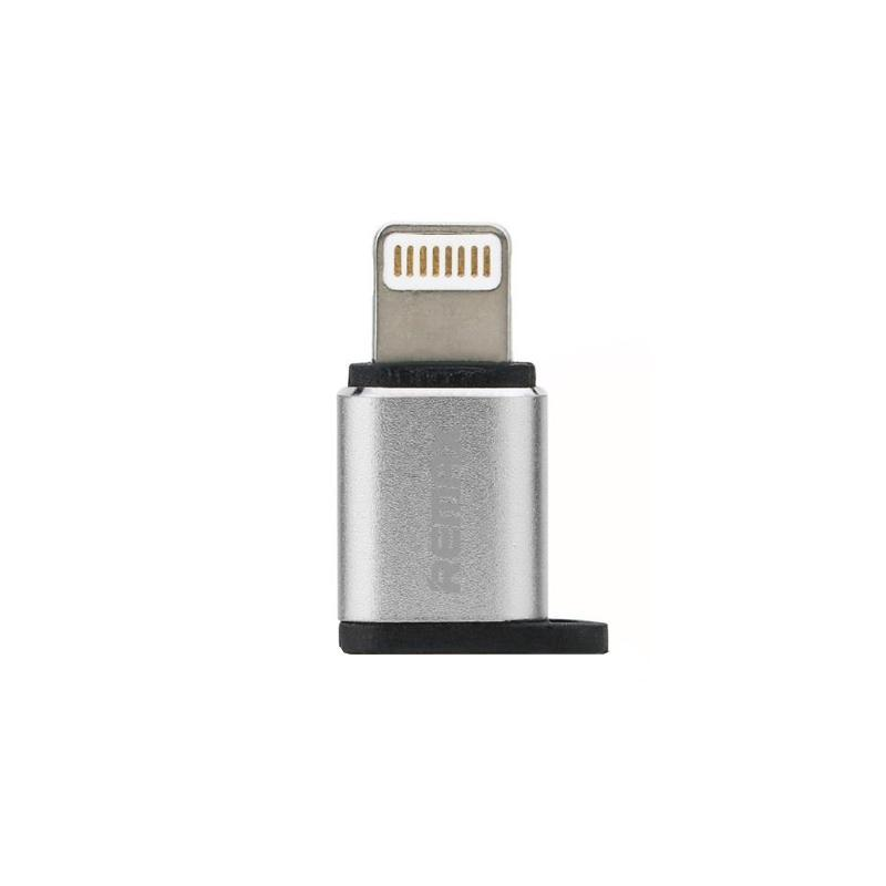 Adapter Remax RA-USB2 iPhone 6 -> microUSB Silver