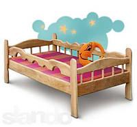 Кровать детская (подростковая) из ясеня