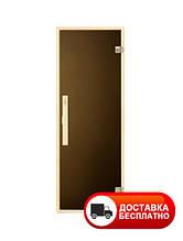 Двери для сауны Tesli Siesta Sateen 1900*700 (матовые)