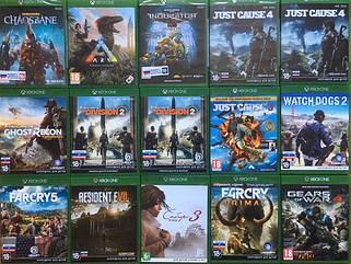 Игры для Xbox One б/у
