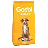 Gosbi Exclusive Lamb & Fish Junior холистик корм с ягненком и рыбой для щенков средних и крупных пород