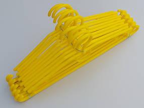 Плічка вішалки тремпеля V-D39 довжина 39 см, в упаковці 10 штук, фото 2