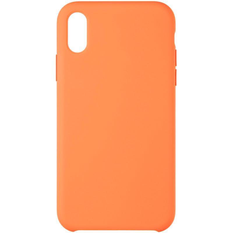 Original 99% Soft Matte Case для iPhone X Orange