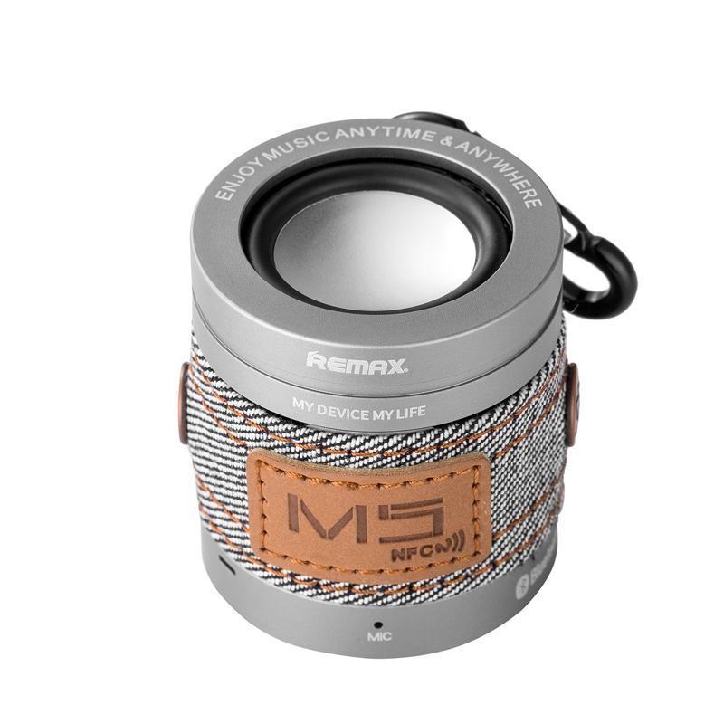 Bluetooth колонка Remax RB-M5 Silver