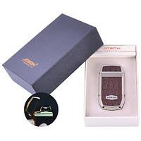 Электроимпульсная зажигалка в подарочной упаковке Jobon (USB) №XT-4963-2