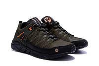 Мужские кожаные кроссовки Merrell Tracking (реплика)