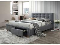 Кровать ASCOT 160 серый (Signal), фото 1
