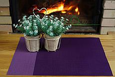 Салфетка виниловая под столовые приборы с узором 30см*45см, серветка сервірувальна