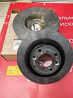 Диски тормозные передние вентилируемые Renault Sandero 2 (Original 402067025R) диаметр 258 мм, фото 1