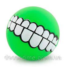 Игрушка для питомца, мяч для собаки  Зеленая. (424256666)