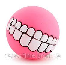 Игрушка для питомца, мяч для собаки  Розовая. (344334663)