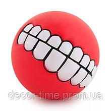 Игрушка для питомца, мяч для собаки  Красная. (3456783333)