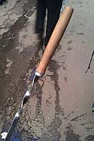 Шампур нержавіючий з дерев'яною ручкою 62 см (2 мм)