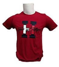 Модная футболка мужская в стиле известного производителя