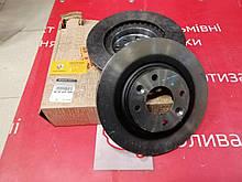 Диски гальмівні передні вентильовані Renault Logan 2 діаметр 258 мм (Original 402063149R)