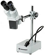 Микроскоп Bresser Biorit ICD-CS 10x-20x  белый