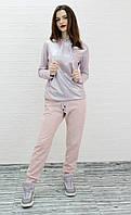 Весенний женский костюм розового цвета