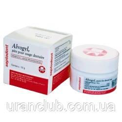 Паста для лечения альвеол после удаления зуба alvogil альвожил 12гр.