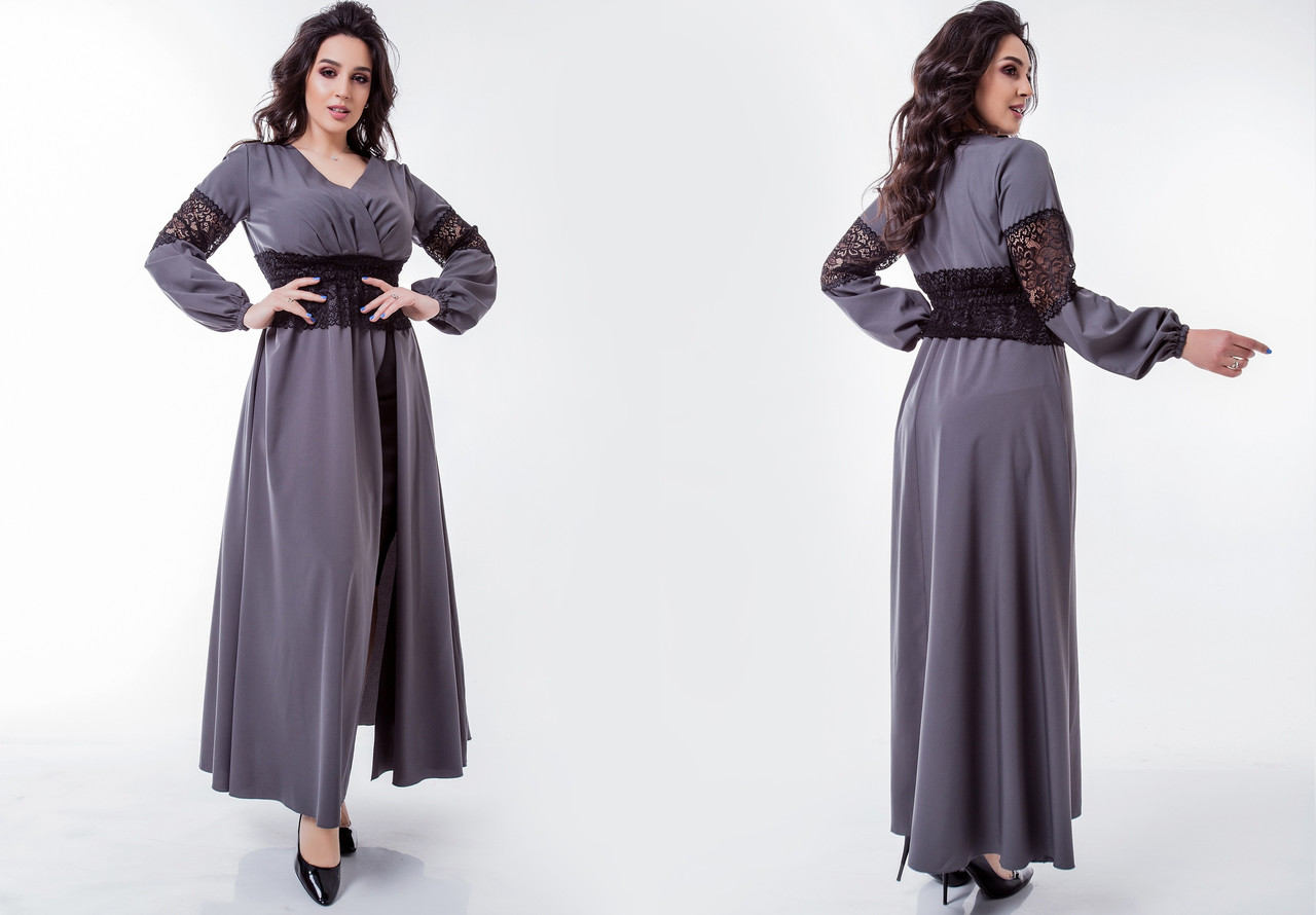Платье женское 8345св батал