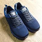 Кроссовки мужские Bonote текстиль тёмно-синие р.41, фото 6