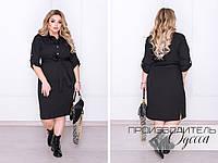 Стильное женское платье Норма и Батал (в разных расцветках)