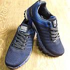 Кроссовки мужские Bonote текстиль тёмно-синие р.41, фото 4