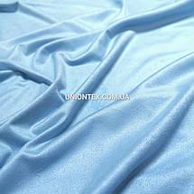 Ткань замша стрейчевая голубая, фото 2