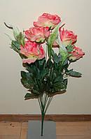 С-399 Роза с колоском 7+5 головок  70х12 см