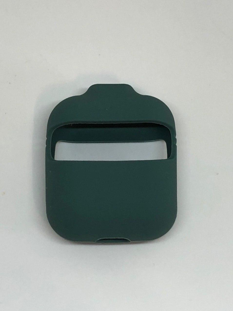 "Чохол для Airpods 1 2 серії, 3 в 1 ""Pine green №58"""