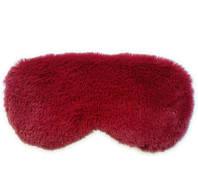 Маска для сну плюшева Silenta Plush Classic Red, фото 1