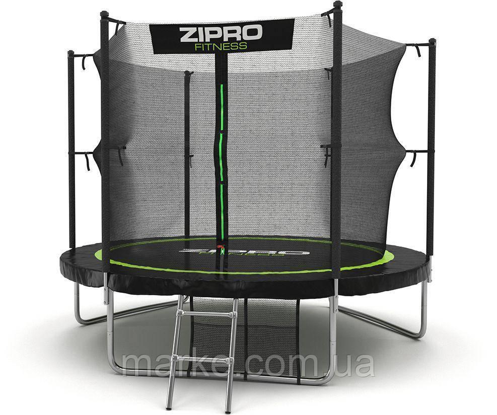 Бесплатная ДОСТАВКА Zipro Garden батут 312см (10ft) діаметр з драбинкою і внутрішнью сіткою