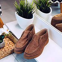Удобные замшевые ботинки, фото 1