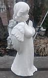 Скульптура Ангел 25 см атмосфероустойчивая  керамика №28, фото 3