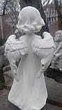 Скульптура Ангел 25 см атмосфероустойчивая  керамика №28, фото 4